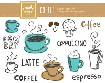 Coffee Clipart Set
