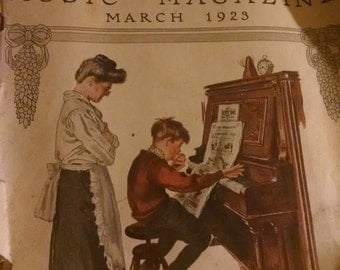 Etude music magazine March 1923