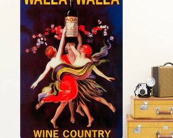 Walla Wine Country Washington Wall Decal - #60948