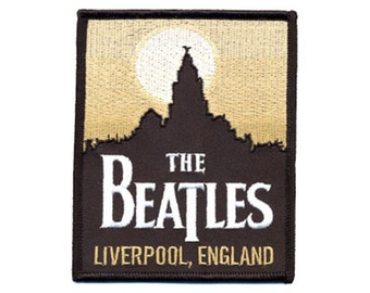 Beatles - Liverpool England - Patch - Free Shipping