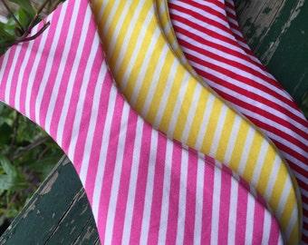 Candy Stripe Bow Tie