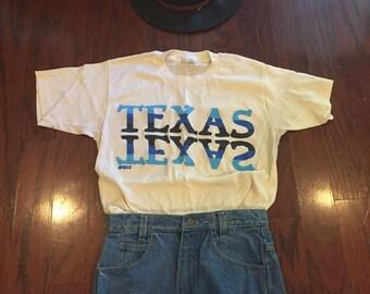 1970's texas tshirt