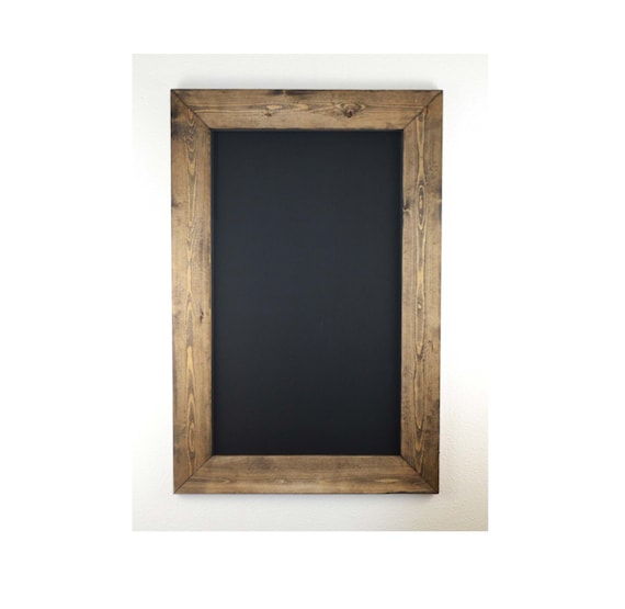 Set Of Two 36x24 Rustic Framed Chalkboards Rustic Home Decor