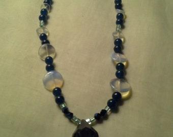 Green Aventurine & Opalite Necklace