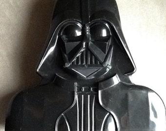 Vintage Original Star Wars Darth Vader Action Figures Case By Kenner From 1980