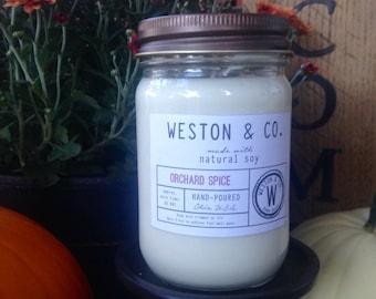 Natural Soy Candle - 12oz. Jar