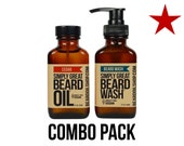 Beard Oil + WASH Combo Pack by Simply Great