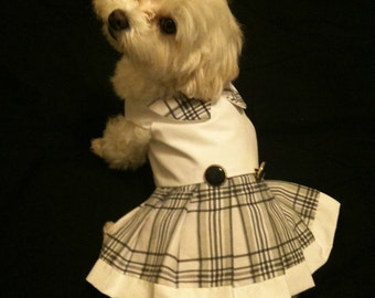 School Uniform Dog Dress
