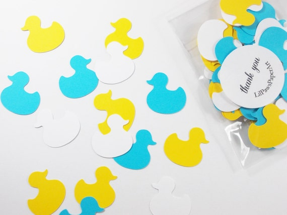 duck party decoration duck confetti birthday party baby shower