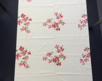 Vintage Dogwood Tablecloth (#4)