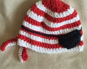 Crochet Pirate Beanie