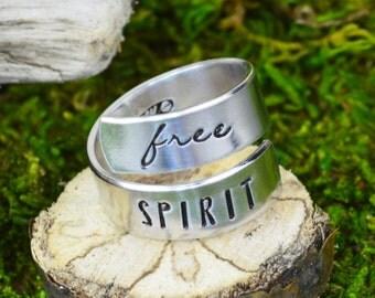 Free Spirit Wrap Ring - Twist Ring