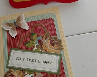 Handmade All-Occassion Cards Pak of TWO
