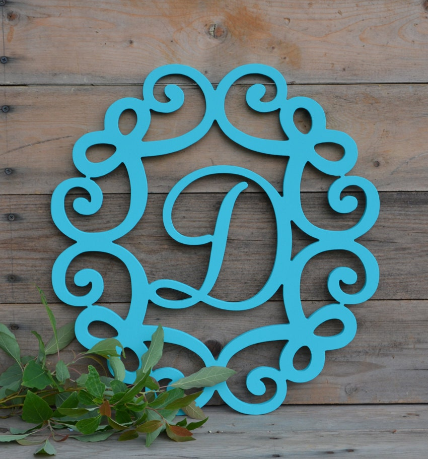 Wooden Letters Painted Monogramall Sizes Home Decor Wooden