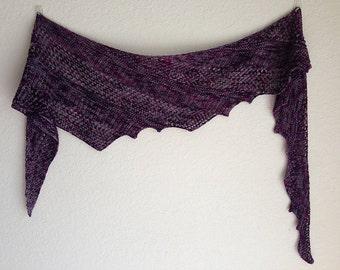 Beautiful Cozy Hand Knit Shawl