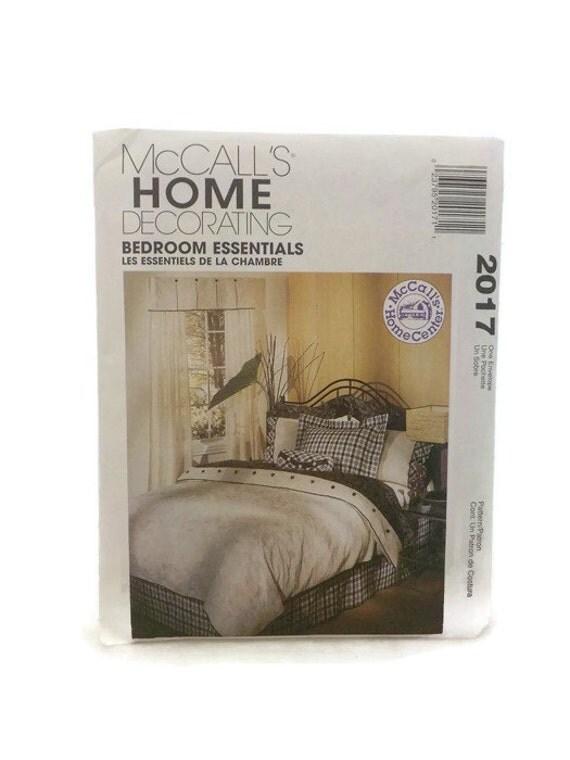 mccalls 2017 home decorating bedroom essentials uncut