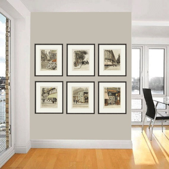 French Wall Art french art print poster paris wall art victorian art antique