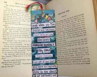 Life Rules Bookmark