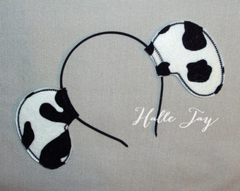 Dalmatian Dog Ears Headband
