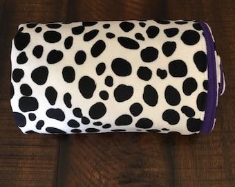 Dalmatian minky stroller or toddler blanket