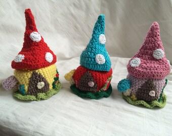 Crochet Fairy House