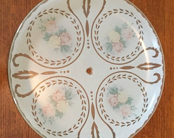 Beautiful Vintage Light Cover 1950's