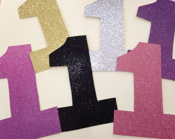 Glitter Numbers for garlands!!!