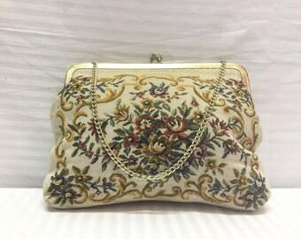 Walborg, Rose Tapestry Purse ,Hong Kong ,Handbag,bags, purses