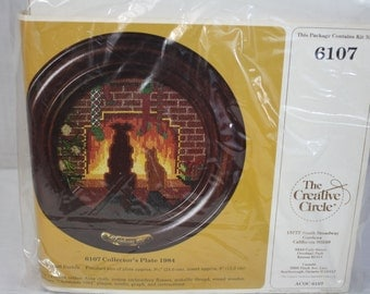 The Creative Circle No. 6107 Collector's Plate 1984