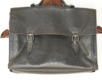 Satchel Black Leather