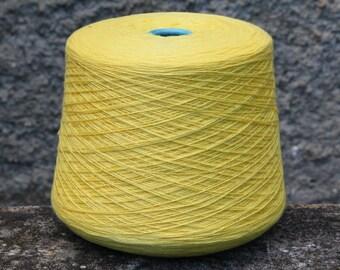100% cashmere yarn on cone, per 100g
