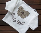 Baby Bear Sweater. PDF Hand Knitting Pattern.