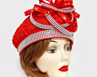 Floral Lace Hat