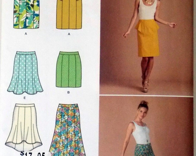 Simplicity - 1697 Misses' Pull-On Skirts - Sewing Pattern