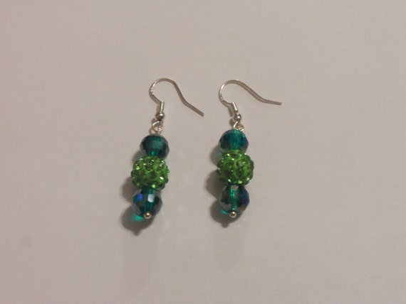 Green Earrings For Saint Patrick S Day Designs By Cherrae