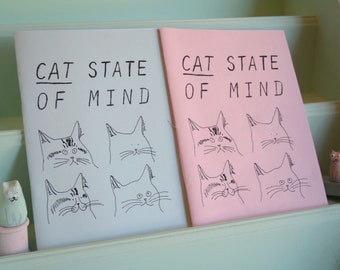 Cat State of Mind Zine - A zine dedcated to cats - Cat Zine