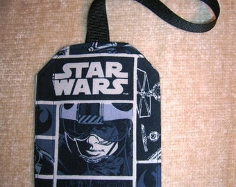 Star Wars and Dr. Who Luggage Tags