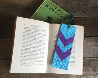Quilt Block Bookmark, Arrow pattern