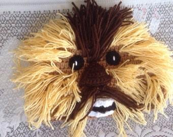 Chewbacca Hat - Crochet Star Wars Chewbacca Costume - Kids Star Wars Costume - Comic-Con Costume - Cosplay - Baby Star Wars - Newborn