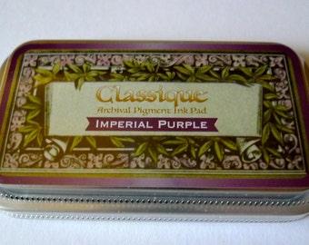 Ink Pad Tsukineko Classique Imperial Purple (140025)