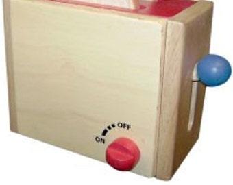 wooden Toaster for children