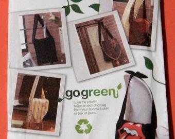 Simplicity 2972 Go Green bag pattern Uncut