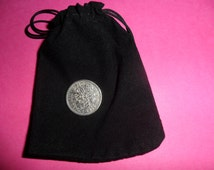 60th birthday 1956 Sixpence coin with free presentation bag 60th birthday present 60th birthday gift lucky sixpence British coin