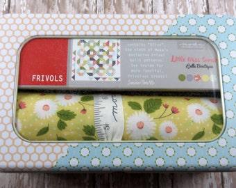 SALE!! Frivol No. 09  Quilt Kit - Olive - Little Miss Sunshine - Lella Boutique - Moda