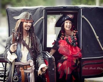Replica Multi Weave Jack Sparrow Frock Coat