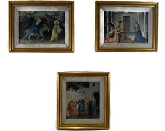 Vintage Religious Icon Framed Prints