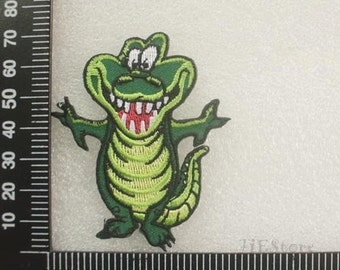 Crocodile Patches Kawaii Animal Sew on Applique CD55