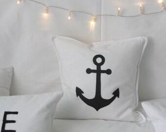 "Pillow "" Anchor"" Beach House"