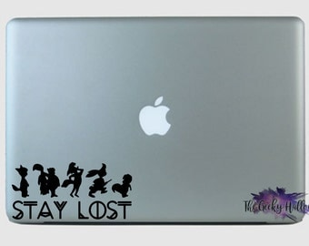 Stay Lost Peter Pan Inspired Vinyl Decal Sticker
