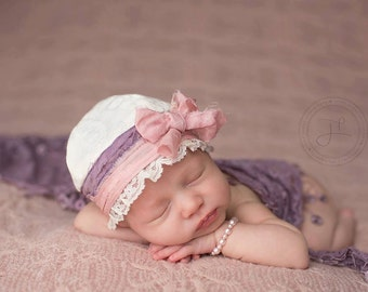 newborn photography, wrap, shawl, baby girl